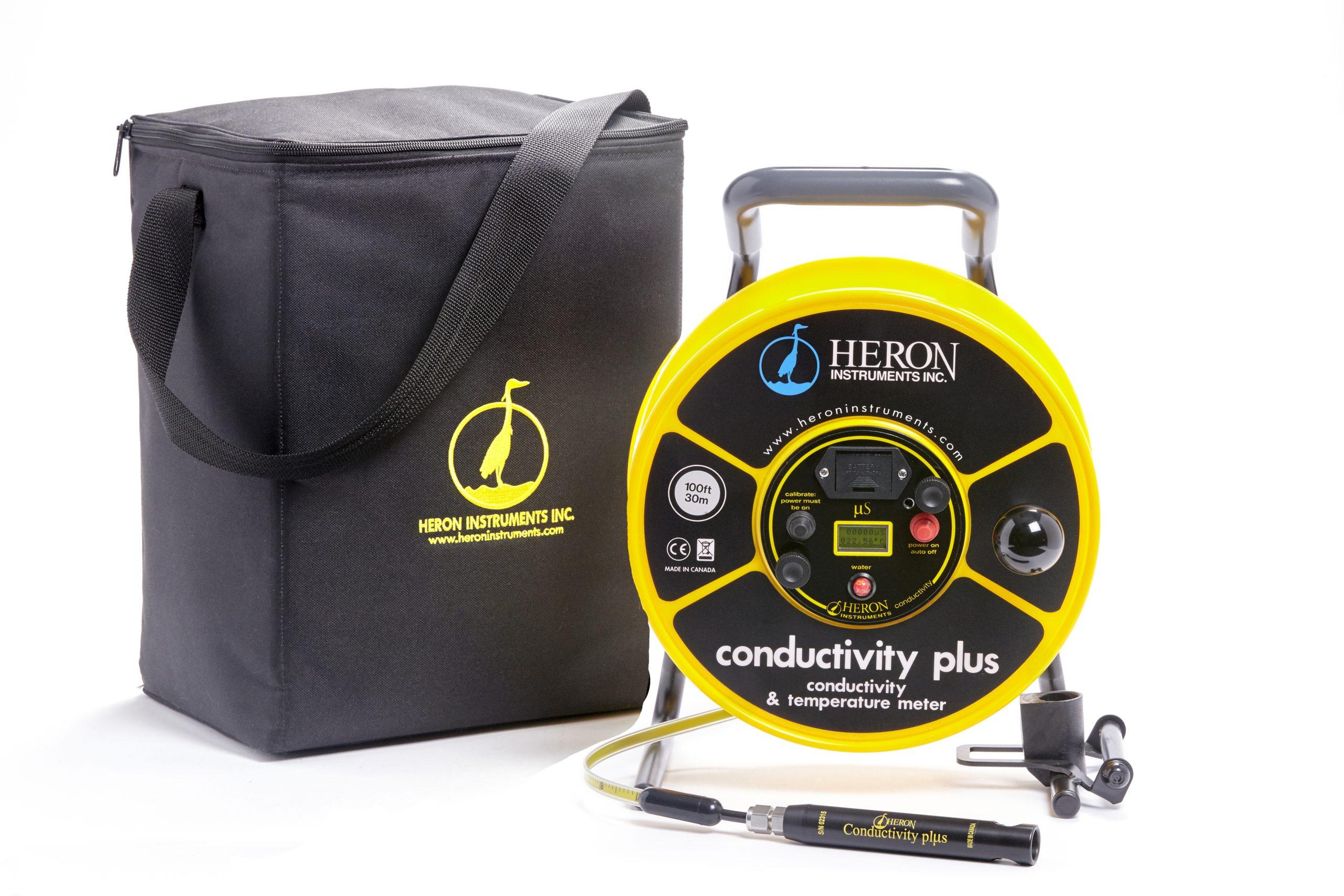 conductivity plus conductivity and temperature meter