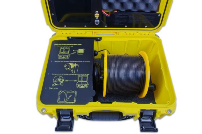 borehole inspection camera