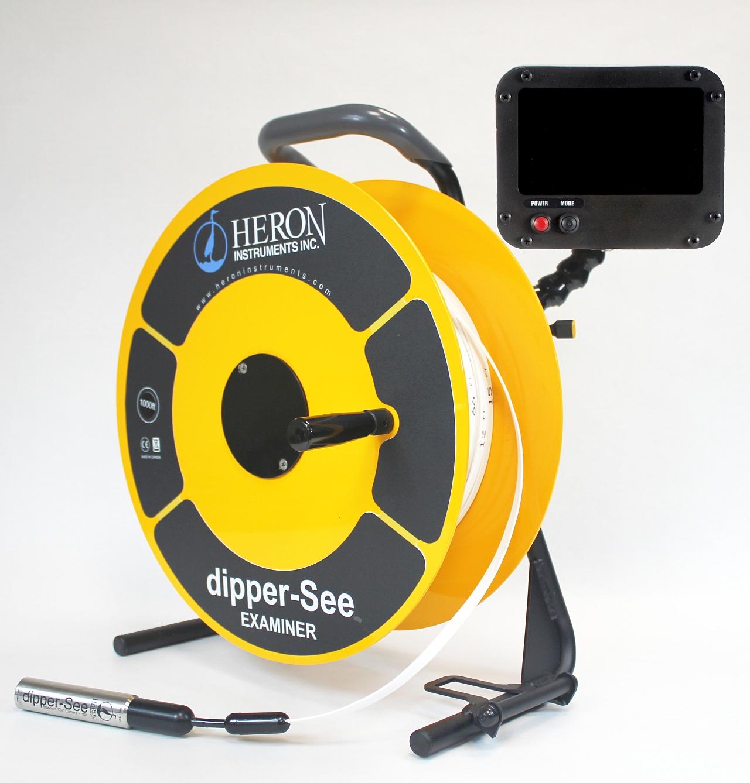 large size borehole inspection camera